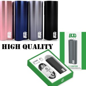 Empty BudTank Mod3 390mAh Aluminum Alloy Case Bud Tank 3.3-4.2v Voltage for Disposable Vape Pen Cartridges Atomizers with USB Cable Adapters