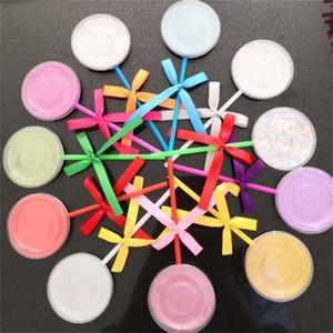 Piruleta Cajas de pestañas arco reflejo 3D pestañas falsas vacías cosmética caja de embalaje caja de embalaje Herramientas Pestañas 1 7 canales H1