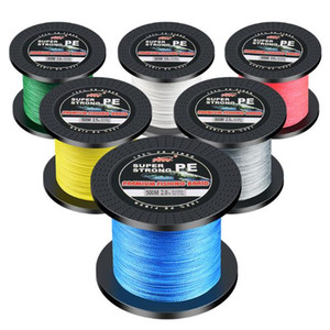 500M SUPER Strong Japanese Braided Multifilament fishing line POWER Fishing Line 10 20 30 40 50 60 80 100LB 500m braided fishing line