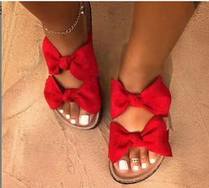 2020 femmes douce arc Flats Sandales Femmes Rome fond plat chaussons en daim style Leopord Tongs sélectionl Chaussures Daily Plage