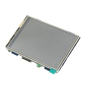 Raspberry Pi 3.5 Inch Monitor 1920x1080 HD LCD Display Screen Built in Speaker for Raspberry Pi 3 Model B+ 3B 2B B+ with RPi Case Holder