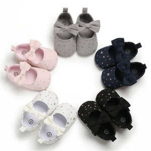 Hot Toddler Girl Crib Shoes Newborn Baby Bowknot Soft Sole Prewalker Sneakers 018M Hot Toddler Girl Crib Shoes Newborn Baby Bowknot Soft Sol
