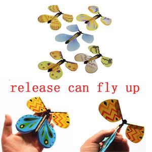Creativo Trasforma il bozzolo di farfalla volante in un giocattolo magico con puntello a farfalla