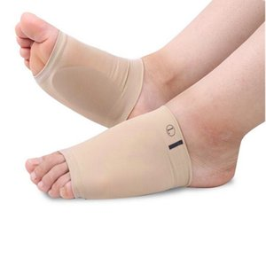 2pcs pair Silicone Gel Arches Footful Orthotic Arch Support Foot Brace Flat Feet Relieve Pain Comfortable Shoes orthopedic pad insole