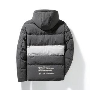 2020 Hot Sale New Loose Long Sleeve Men's Warm Outwear Casual Solid Male Cotton Zipper Windproof Coats Hooded Winter Jackets