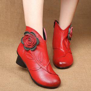 Горячая распродажа-Женские сапоги с женской обувью хлопчатобумажные сапоги