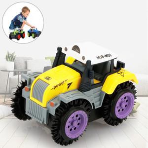 Diecasts Toy Veículos Crianças Dump Truck Simulation 4 rodas motrizes Jeep elétrica conluio Toy Car Brinquedos Hobbies Drop Shipping