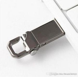 Chiavetta USB in metallo 100% capacità reale USB 2.0 con portachiavi Memory Stick ad alta velocità 32 GB ~ 128 GB