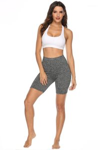 Bottoming Shorts Magro Yoga Correndo Suor respirável Bbsorption Sweatpants Casual Famale Shorts aptidão das mulheres Sports