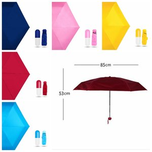 Travel Ultra Mini Umbrella Folding Umbrellas Rain Pocket Umbrella Anti UV Sun Umbrella Light Compact design