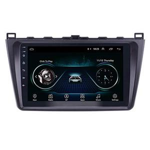 Voiture GPS Radio 9 pouces Android 9.0 pour 2008-2014 Mazda 6 Rui Wing Heart Unité d'une unité de support Carplay TV numérique DVR ReaView Camera