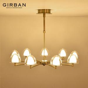 Гостиная люстра современный ресторан творческий индивидуальность атмосфера свет роскошная спальня лампа Nordic стиль подвесной светильник