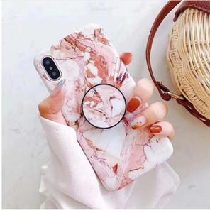 아이폰 6 6S 7 8 X XS MAX XR에 대 한 전화 케이스 패션 대리석 십 대 스타일 소프트 IMD 그래픽 전화 케이스 커버 셸 가방