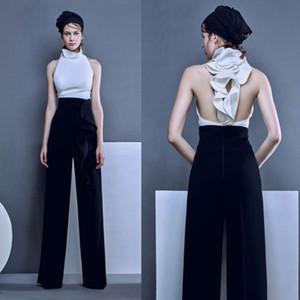 2020 desenhador de moda Prom vestidos de ternos Pants Sexy Back Plus Size vestidos de noite personalizado Formal vestido de festa Robes De Soirée