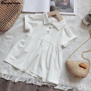 Gooporson Детские платья для девочек Vestidos лето милые платья маленькая девочка с коротким рукавом платье принцессы детский костюм