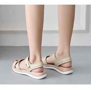 0722hzd237 новые Популярные на открытом воздухе прогулочные плоские тапочки мужские сандалии женские летние прохладные пляжные сандалии с коробкой