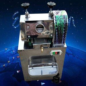 Toptan fiyat paslanmaz çelik elektrikli şeker kamışı çıkarıcı / Şeker Kamışı Suyu Sıkacağı / Şeker kamışı Sıkacağı makinesi / zaman ve emek tasarrufu sağlar