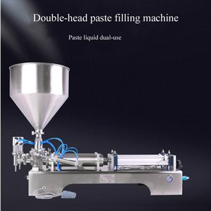 Horizontal filling machine for cream chili sauce tomato butter peanut butter olive oil pneumatic filling machine