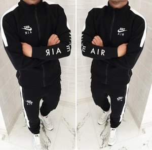 Erkekler Tasarımcıs Tracksuits Hırka Ceketler Kapşonlu Kapüşonlular uzun pantolon sweatsuits Casual Aktif Baskı Suit 2 ADET Erkek Giyim