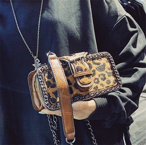 Women Bag 2019 New Fashion Casual Leopard Chain Single Shoulder Cross Body Small Square Bag PH-CFY20052658