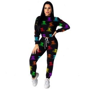 ZH5116 esplosione modelli pantaloni di fascia alta moda femminile soddisfare le lettere di successo di donne europee e americane due pezzi A21