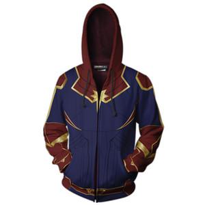 Avengers 4 Endgame Quantum Realm Impression 3D Sweats À Capuche Super héros hoodies Hommes Femmes Zipper Sweat-shirts Manteau Pour Vêtements à La Mode
