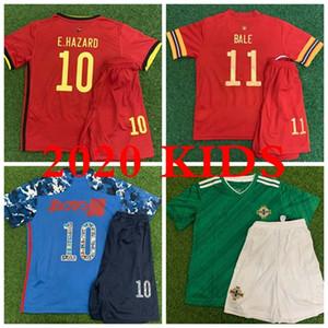 En 2020/21 ÇOCUKLAR Jersey WALES BELÇIKA JAPONYA ANA Futbol Formalar Yıldız BALYA 11 TEHLİKESİ 10 BÜYÜK BOŞ KANAT 10 Maillot Kalite 2020 Futbol Gömlek