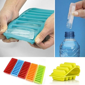 10 Grids Silicone Ice Cube Tray Mold Chotolate Biscuit Clay Mould Creative Ice Cream Tools Forma De Gelo Sent By Random