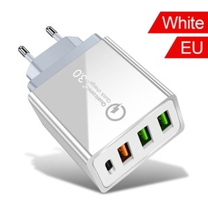 Quick Charge 4.0 3.0 USB Charger 36W UE USA Tipo C PD caricabatterie rapido per Sasmung S10 Xiaomi Huawei