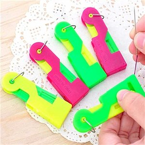 Nadeln 5Pcs New Sewing Einfädler Fingerhut Faden Werkzeug Einfädler älteres Führungsnadel Einfache Geräte automatischer Faden Zu
