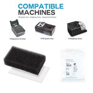 12шт CPAP-фильтры | Пенные фильтры CPAP и сверхтонкие фильтры для Philips Respironics M Series, PR System One и SleepEasy Series