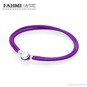 Donia 100% de prata 925 1: 1 Original Authentic 590749CPE-S Armband Charm Bracelet básico adequado DIY frisada Mulheres