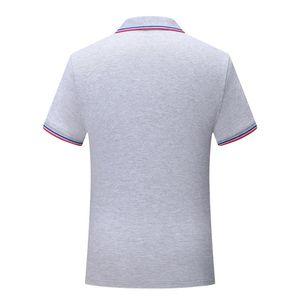 Polo shirt uniform Gray SD chongfu 899046New striped collar short sleeve men and women comfortable breathable T-shirt