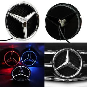 Illuminato Luce LED griglia anteriore a emblema distintivo per Mercedes Benz 2011-2016 A B C E M R ML GL GLA GLK Specchio