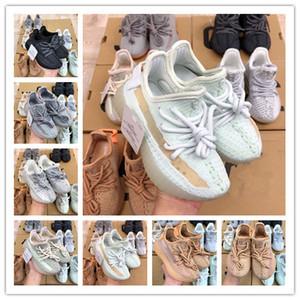 2020 infantile Clay v2 pour tout-petits enfants Courir chaussures Kanye West Glow In The Dark statique fille garçon enfants chaussures de sport chaussure