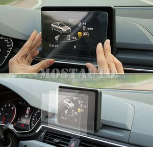 Glass Screen Protector Films Film Car GPS Navigator For Audi A4 A5 2017-2018 1pcs