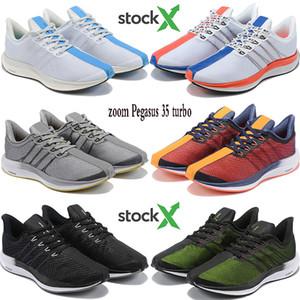 Мода реагирует увеличить Pegasus 35 турбо кроссовки Hongkong золота DART быть правды Цветочных тройных черных мужчин женщины стилиста кроссовок США 5.5-11