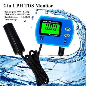 Mini Professional 2 в 1 Тестер качества воды Многопараметрический монитор качества воды pH-метр TDS Многопараметрический анализ качества воды