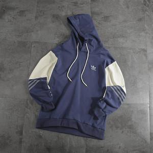 AD Casual Long Sleeve Letters Print Loose Hoodies men Tops 2020 Spring Pullover Sweatshirt Outfit Streetwear Fashion Hoddies 18218