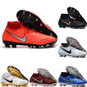 2019 erkek futbol ayakkabı Phantom VSN Gölge Elite DF AG-PRO futbol cleats Oyunu Futbol çizmeler üzerinde scarpe da calcio 03