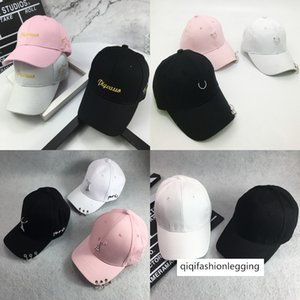 Parent-child mother-daughter children's hat Autumn Tide 2-4-6 years old buckle ring baseball cap male and female children's cap