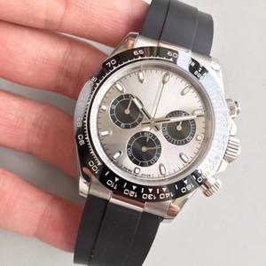 U1 fabbrica di orologi zaffiro D-TONA 40 millimetri automatico macchinari nessuna batteria in acciaio inox movimento spazzare piccoli quadranti lavoro orologio da polso
