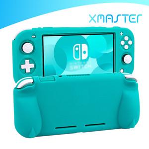 Copertura Shell morbido silicone per Nintendo switch Lite antiscivolo ultra sottile Custodia protettiva per console di gioco Passa Packaging Lite NS vendita al dettaglio