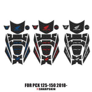 Honda PCX 125 150 PCX125 PCX150 2018 2019 için 3D Fairing Gaz Cap Tank Pad koruma Sticker çıkartma