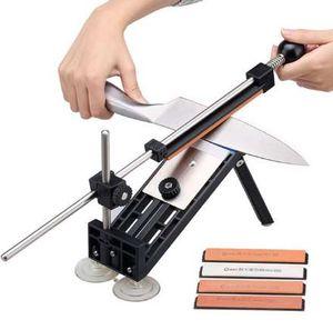 Ruixin Pro I Système d'aiguiseur de cuisine professionnel avec aiguiseur de couteaux avec pierres à aiguiser Apex Edge Pro meule PK Pro II III