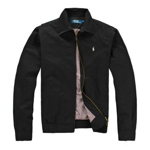 2018 homens novos revestimento do revestimento Outono Windrunner Jackets grife Sports Windbreaker finos Casual Men Jacket Tops Roupa M-2XL