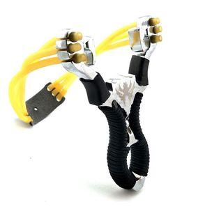 Мощные Slingshot Резинка сплав наручных Slingshot Открытого Камуфляж Охота Sling Shot Охота Инструменты для наружного рыбалки игрушки