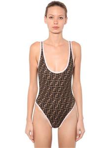2020 디자이너 섹시한 수영복을 비키니 FF 자 패션을 수영복 붕대 섹시한 수영복 섹시한 브랜드의 한 조각의 수영복