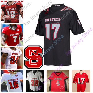 NC штата Северная Каролина Wolfpack NCAA College Football Джерси Реки Филипп RUSSEL WILSON Девин Лири Мэтью Маккей Zonovan Knight Emezie