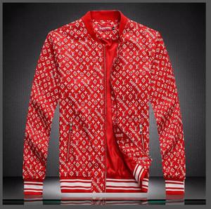 2019 Chaqueta de diseño de lujo para hombre mujer Sweatershirt Primavera otoño Marca Prendas de abrigo manga larga con cremallera Ropa 2 colores M-4XL 031170